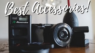 Best Camera Accessories For Sony a6000!