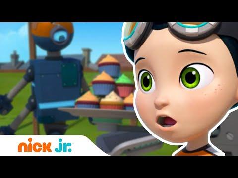 Расти-механик   Робот для метания кексов 🤖  Nick Jr. Россия