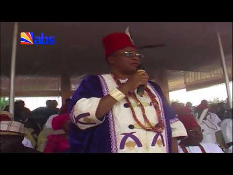 Adazi – Nnukwu Community Celebrates New Yam Festival