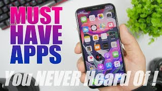 10 MUST HAVE Apps - You NEVER Heard Of - 2019 !