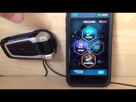 scala rider PACKTALK - Remote Control!  Cardo SmartSet App