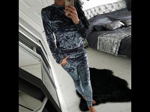 Велюровый костюм с Алиэкспресс. Oksana Cap