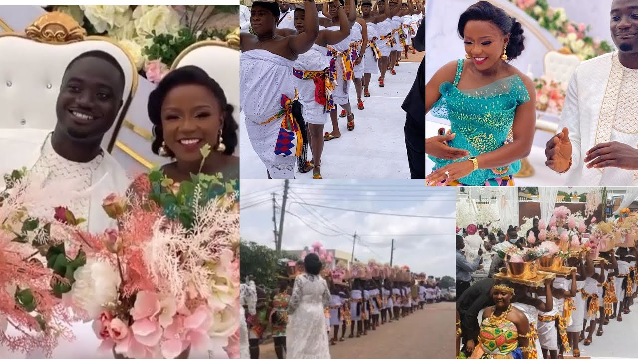 Download Ghana Expensive Traditional Wedding || Millions Were Spent On Dowry
