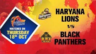Global Kabaddi League 2018 | Global Kabaddi League 2018 | Haryana Lions V/S Black Panthers thumbnail