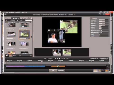 Montagethema Bild in Bild mit Pinnacle Studio 16 und 17 Video 64 von 114