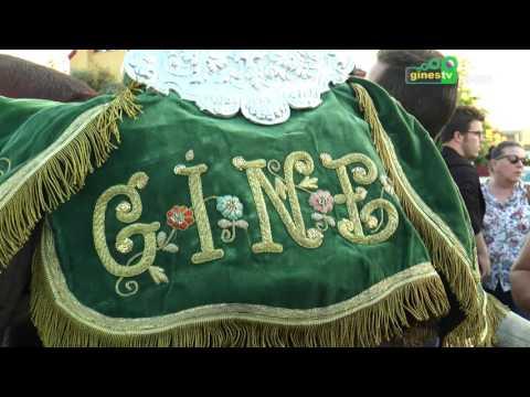 COMPLETO 2 Llegada de las Carretas de Gines 2016
