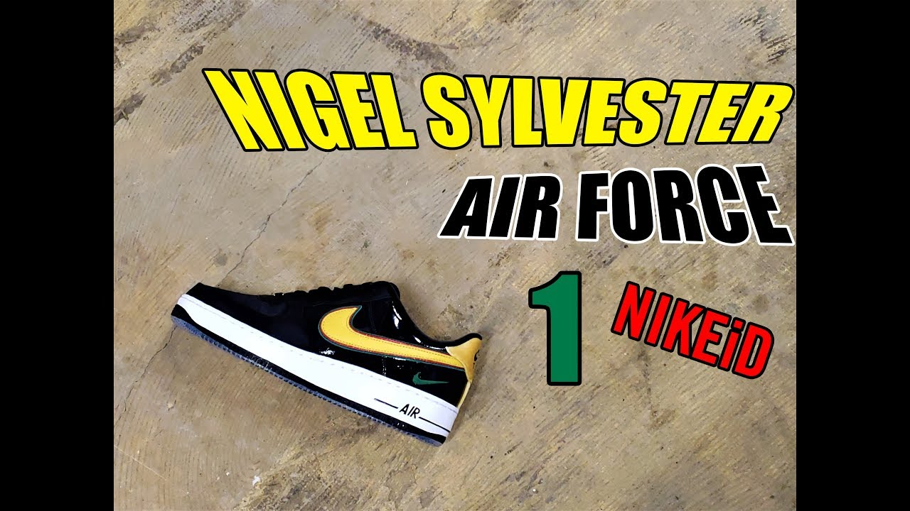 e5684f01619769 Nigel Sylvester Air Force 1 NIKEiD  REVIEW