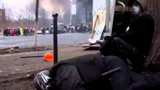 Новое видео расстрела на майдане от первого лица