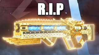 I'm sorry guys.. It's time to sleep on the havoc in apex legends...