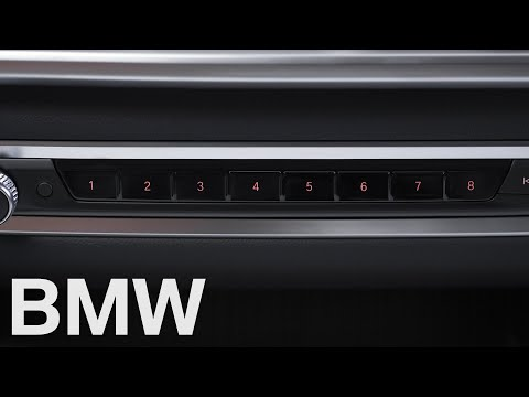 How to use the favourite buttons in your BMW – BMW How-To