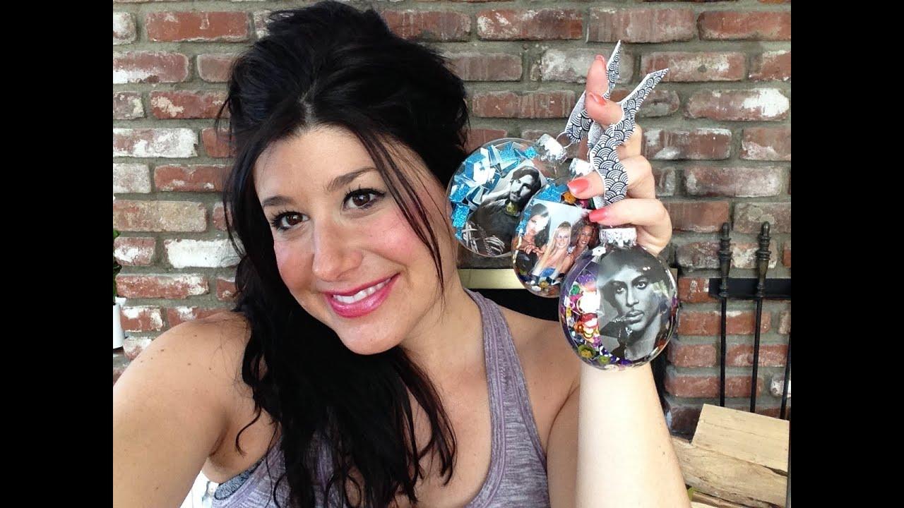 diy christmas craft rock n roll ornaments youtube