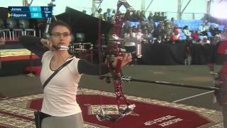 Елена Филиппова - серебрянный призер первого этапа Кубка мира по стрельбе из лука