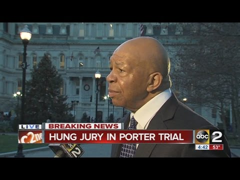 Elijah Cummings interview on William Porter mistrial
