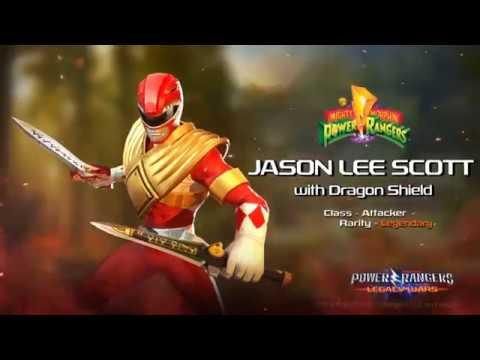 Power Rangers: Legacy Wars (MMPR) Jason Lee Scott - Red Ranger w/Dragonshield (Moveset)