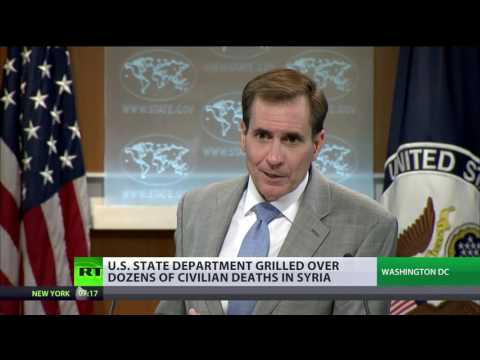 State Dept grilled over dozens of civilian deaths in Syria airstrikes