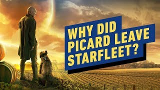 Patrick Stewart: Why Did Picard Leave Starfleet?