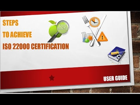 Food Safety | ISO 22000 | Step by Step Tutorial to Achieve I
