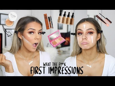WHAAAT?! SHOOK. | FULL FACE OF FIRST IMPRESSIONS
