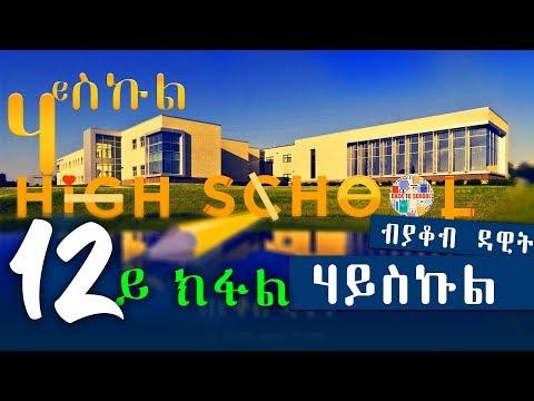 HIGH SCHOOL | ሃይስኩል (12ይ ክፋል) - New Eritrean Series Story 2018 by Yacob Dawit