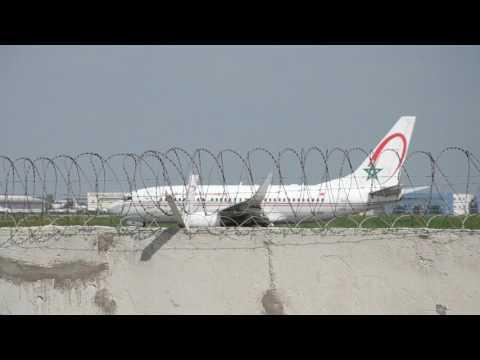 +14 Spotting at Casablanca Mohammed V airport include 777,787,a330,a320,e190,737,atr72