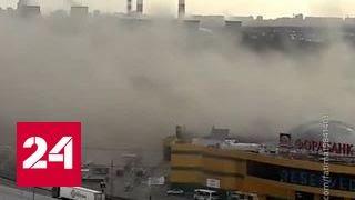 """Пожар в """"Рио"""": шесть человек заблокированы в лифте, еще 10 - в кафе"""