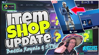 💥MenamesCho's LIVE 🔵 *NEW* HEIST SKIN 💰 ITEM SHOP UPDATE ⚡ Fortnite Battle Royale 29th June 2019