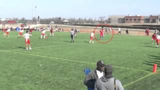 2017 RB/SS Maxwell Kahn (2016) IMG Midwest Regional 7v7 Highlights