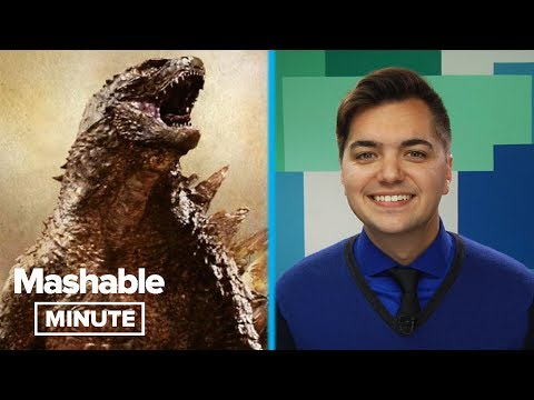 Godzilla vs. Pinocchio Rex! | Mashable Minute | With Elliott Morgan