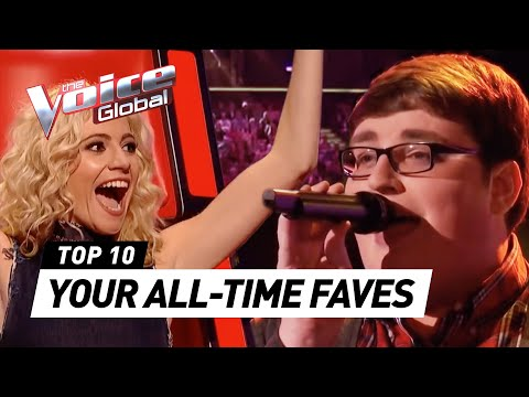 YOUR ALL-TIME FAVORITES in The Voice and The Voice Kids