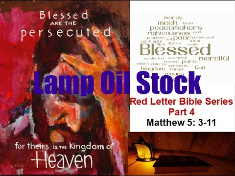 Red Letter Bible Series Part 4