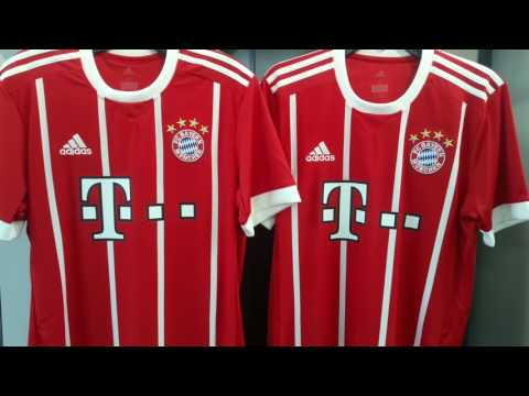 Bayern Munich Vancouver Jersey 2017 2018 by Adidas at NAS Soccer Shop 604-299-1721