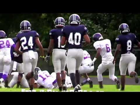 Detroit Central HS vs Southeastern HS Football Game 9-1-17