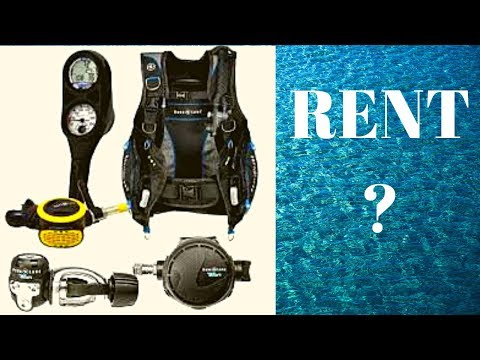 Scuba Diving Review #3 Renting Scuba Diving Equipment