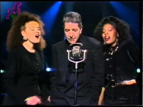 LEONARD COHEN - Ain't no cure for love - Subtitulada en español - Televisión española 1988