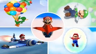 Evolution of - Sky Minigames in Mario Party Games