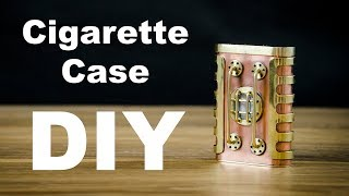 Steampunk Cigarette Сase How to Make DIY 2#