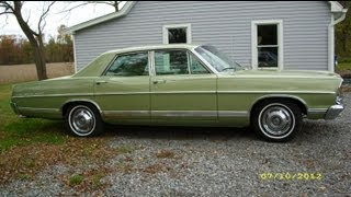 1967 Ford Galaxie 500 Rare 4 Door