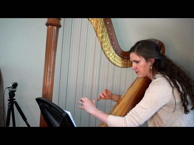 Brittney Benton - Flow (2021) for solo harp