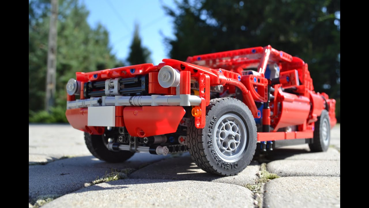 Lego Ford Mustang 1965 Fastback Youtube