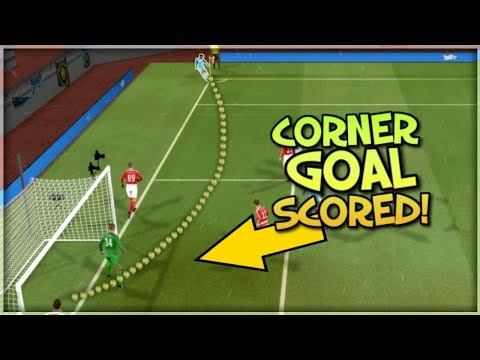 I Scored Directly From A Corner Kick!!! : Dream League Soccer 2018 : Corner Goal Challenge Part 2
