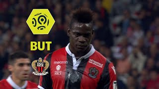 But Mario BALOTELLI (39' pen) / OGC Nice - Angers SCO (2-2)  / 2017-18