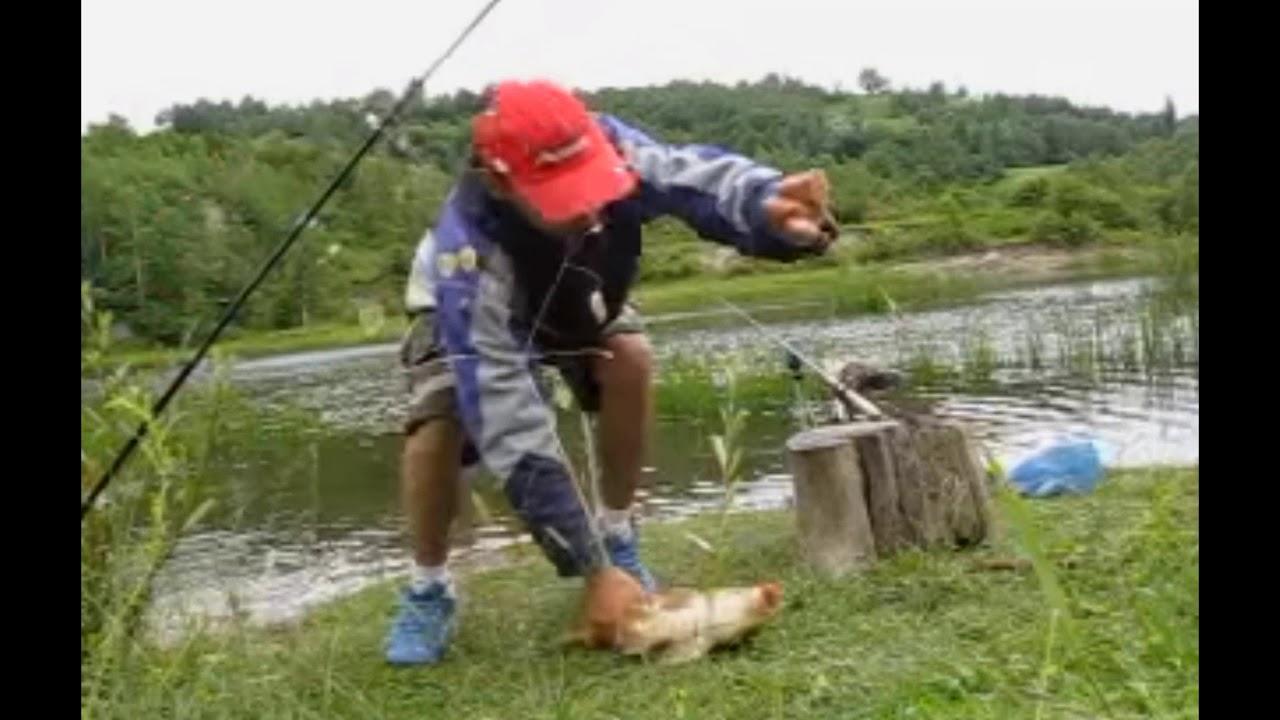 Pescuit la Mamaliga si Porumb pe Lac Salbatic - Crap la porumb - Primul crap prins de mine