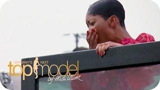 """So benimmt sich kein Model""   Germany's next Topmodel 2015   ProSieben"