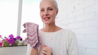 Вяжем Перчатки спицами | 2 изделия Одновременно | Часть 1