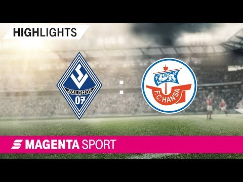 SV Waldhof Mannheim - FC Hansa Rostock | Spieltag 10, 19/20 | MAGENTA SPORT