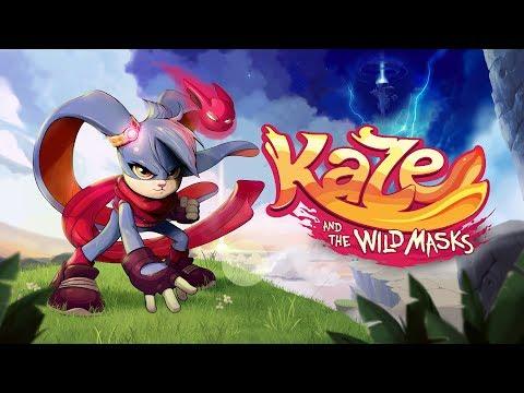 Kaze and the Wild Masks   Announcement Trailer