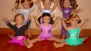 American Girl Doll Group Dance Routine