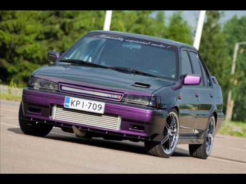 nissan sunny 1.8 GTI TURBO IC - YouTube
