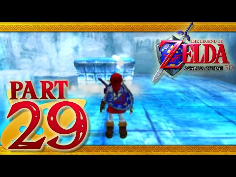 The Legend Of Zelda: Ocarina Of Time 3D - Part 29 - Ice Cavern