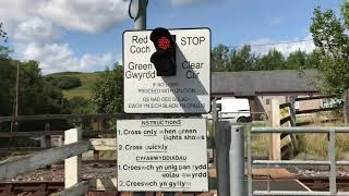 *Faulty Alarm* Cemmaes Road (MWL) Foot Level Crossing (Powys) Tuesday 13.08.2019